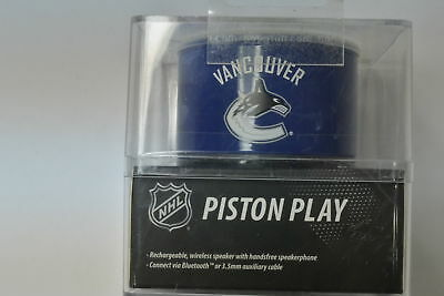 New Logiix NHL Haut-Parleur Piston Play Vancouver Canucks Bluetooth Speaker