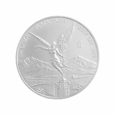 2017 Silver Libertad | 1/4 oz Mexican Silver Coin Direct From Mint Tube