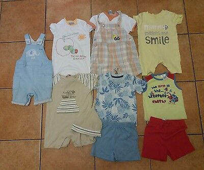 baby boys summer clothes bundle 6-9 months (18)