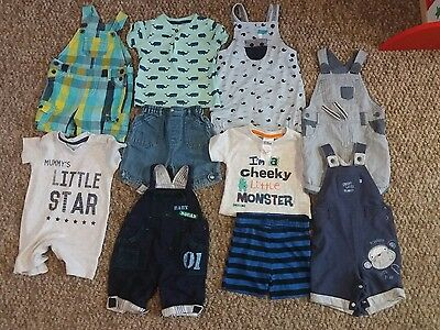 baby boys summer clothes bundle 6-9 months (19)