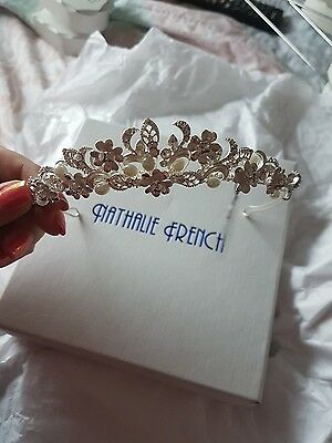 nathalie French bridal tiara