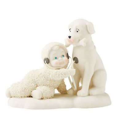 Dept 56 Snowbabies You've Got A Big Heart Baby with Dog Christmas Figure 4051860