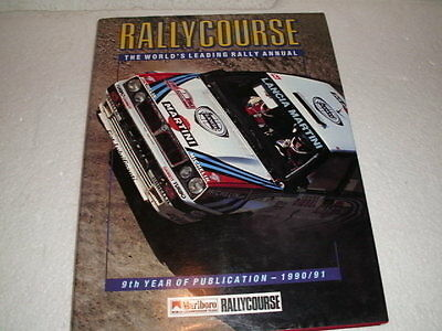 Rallycourse Publication 1990 - 1991 Foreword By Carlos Sainz