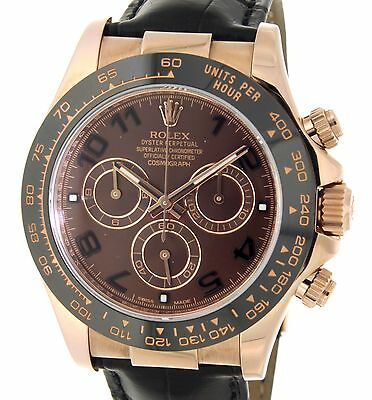 Rolex DAYTONA CHOCOLATE 116515LN ROSE GOLD, 40MM 116515LN