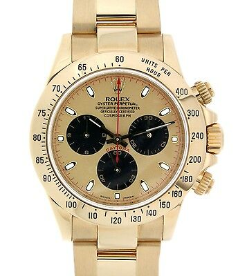 Rolex DAYTONA 116528 YELLOW GOLD 18KT, 40MM 116528