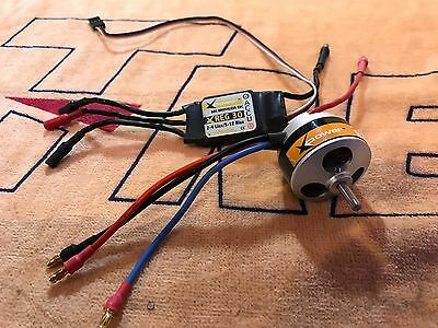 Xpower 3508 1150kv Brushless Motor With Xreg 30A Xpower Esc For Rc Airplane 2.8k
