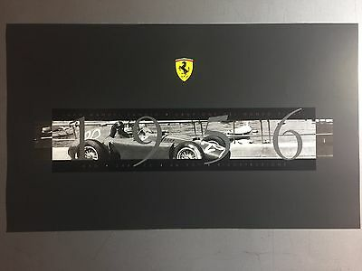 1956 Ferrari Juan Manual Fangio World Champion Print Picture Poster RARE!! L@@K