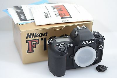 EXC++ BOXED NIKON F100 35mm SLR BODY, CLEAN, TESTED, TIMELESS, w/MANUAL