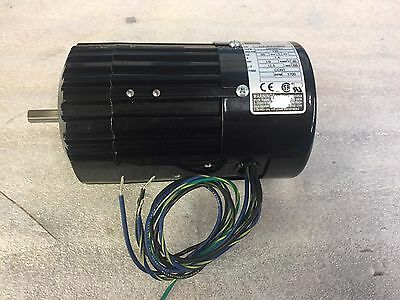 NEW BODINE ELECTRIC COMPANY ELECTRIC MOTOR 34R6BFCI 1/9 HP small motor
