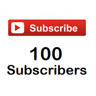 100 YouTube Channel SUBSCRIBERS YouTube Subs YouTube Channel Views
