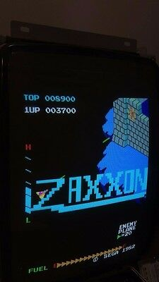 Zaxxon arcade board set working great