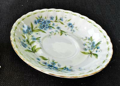 Vintage ROYAL ALBERT England Flowers of Month FORGET ME NOT JULY Saucer
