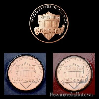 2017 P+D+S Lincoln Shield Proof Penny Mint Set