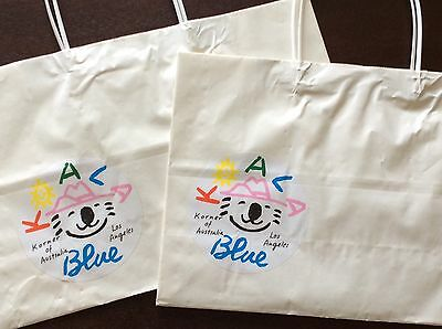 Olivia Newton-John KOALA Blue Grand Opening, Set of 2 bags from Melrose Boutique
