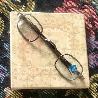 Revolutionary War style reading glasses, Steampunk, mountain man, theatrical