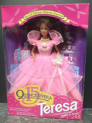 Mattel 1994 15th Quinceanera #11928 Teresa Doll NRFB Special Edition