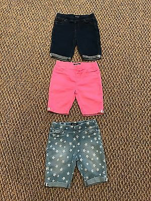 Girls Size 7 Shorts Lot Of 3 Tractor Brand