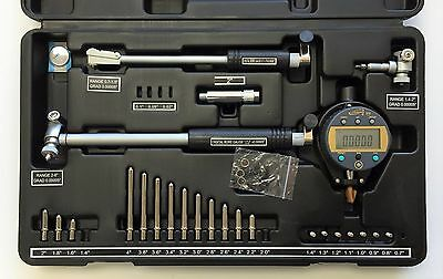 "iGaging 0.7 - 6"" /0.00005"" Digital Absolute Origin Bore Gage, 3-Bore Gages In 1"