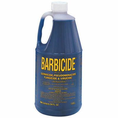 Barbicide Medical Grade Salon Disinfectant Solution 1.89 Litre Germicide