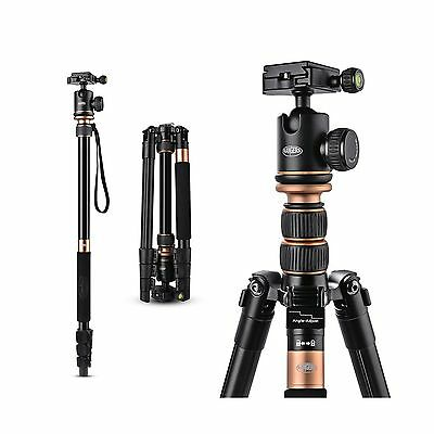 """Rangers 55"""" Professional Aluminum Tripod Monopod with Ball Head for DSLR (Can..."""