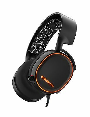 SteelSeries Arctis 5 Gaming Headset with RGB Illumination and DTS Headphone:X...