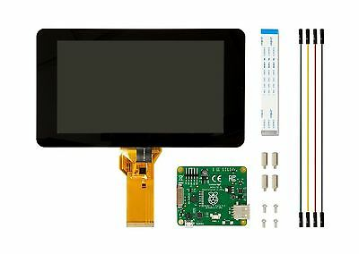 """Official Raspberry Pi Foundation 7"""" Touchscreen Lcd Display"""