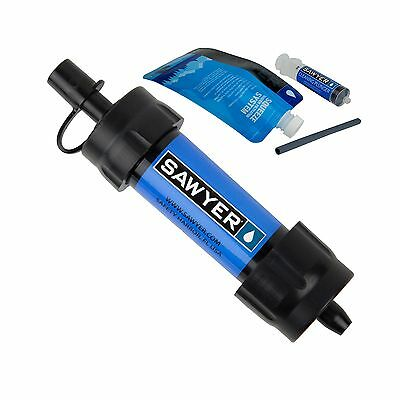 Sawyer Products SP126 Mini Water Filtration System (2-Pack) Blue 2-Pack