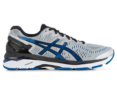 ASICS Men's GEL-Kayano 23 Shoe - Silver/Imperial/Black