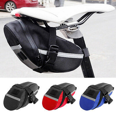 Bike Bicycle Waterproof Saddle Bag Tail Rear Seat Cycling Pouch Storage Outdoor