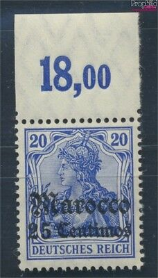 Dt. Post Marokko 37a postfrisch 1906 Germania-Aufdruck (8193521