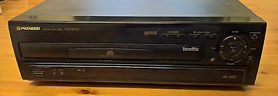 Pioneer Cld-D515  Laserdisc  Ld-Cd  Player 2 Sides