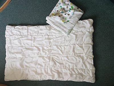 Baby cot quilt + Vertbaudet cover