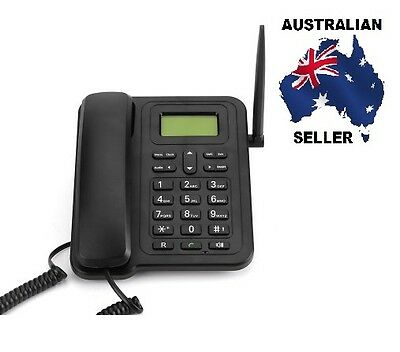 Fixed Wireless 3G Desk Phone - SMS Functionality, 1000mAh Removable Battery, 3G