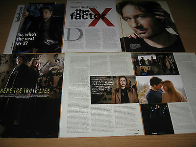 THE X-FILES &  DAVID DUCHOVNY- Magazine Clippings - Gillian Anderson