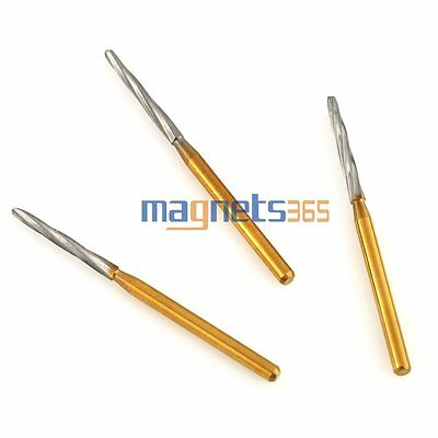 10PCS Maillefer Endo-Z Burs FG 25mm tapered burs for pulp chamber