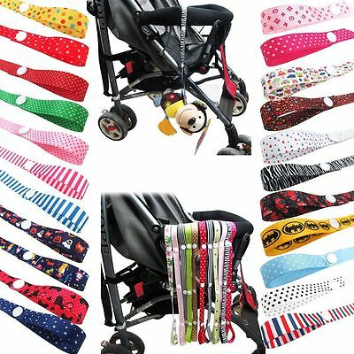 Toy Saver Sippy Cup Baby Bottle Strap Holder For Stroller/High Chair/Car Seat AU