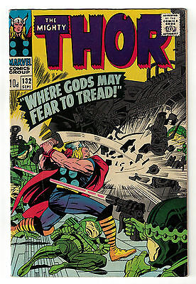 Marvel comics Thor 132 living planet Ego 1st appearance guadians