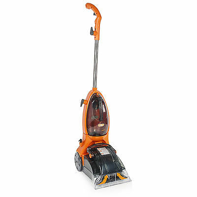 Rapide Spring Carpet Washers Vacuuming Ironing Cleaning Floor Care Orange  NEW