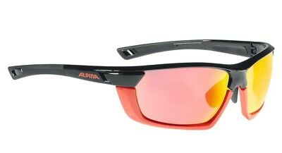 Alpina Sportbrille Tri-Scray MF - black red