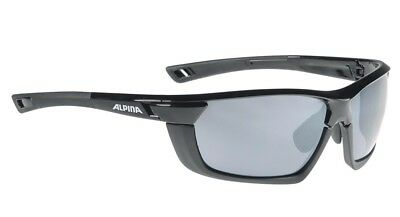 Alpina Sportbrille Tri-Scray MF - black-black matt