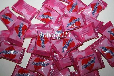 HEARTBEAT STRAWBERRY Flavoured Love Candy 340g bag (approx 100 pieces)