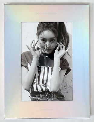 CHUNGHA - Hands On Me (1st Mini) +Hard Cover+Booklet+Paper Toy+Poster+Free Gift