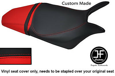 Black & Red Vinyl Custom Fits Honda Hornet Cb 600 F 07-12 Seat Cover Only