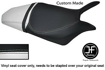 Black & White Vinyl Custom Fits Honda Hornet Cb 600 F 07-12 Seat Cover Only