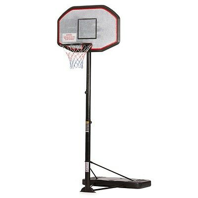 Regulation Comp Size Portable Basket Ball Ring Steel Hoop Stand Netball Game
