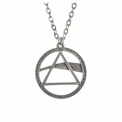 Alchemy Poker Pink Floyd: Dark Side, prism Pewter Pendant BRAND NEW