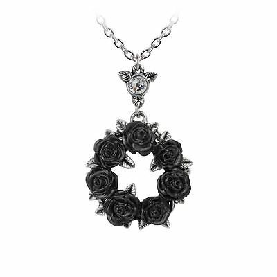 Alchemy Gothic Ring 'O Roses Pewter Pendant BRAND NEW