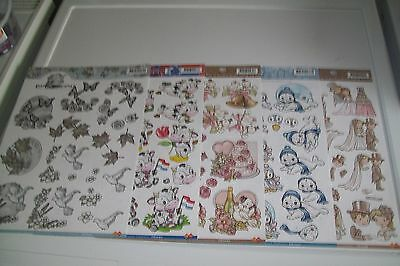 5 Sheets Yvonne Creations 3D Scissors Need (A52) Size A4  New
