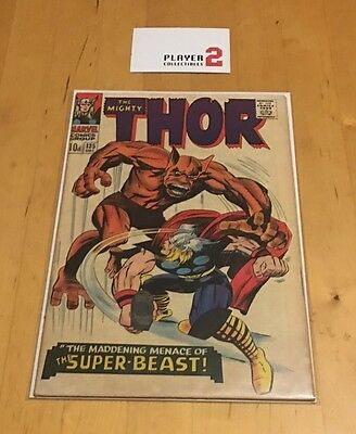 Marvel Comics - The Mighty Thor #135 (1966) The Super Beast