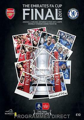 F A CUP FINAL 2017 ARSENAL v CHELSEA MINT PROGRAMME